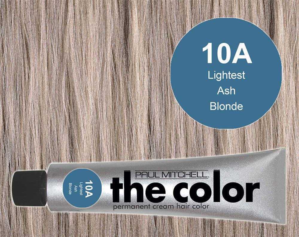 10A-Lightest Ash Blonde - PM the color