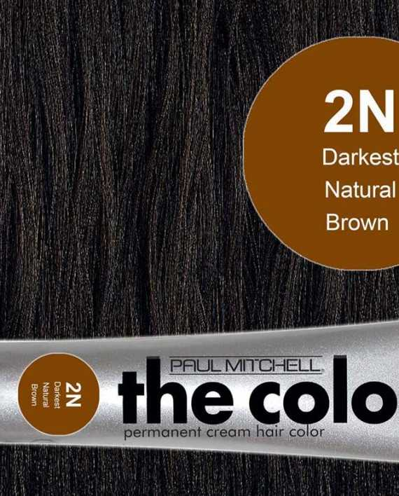 2N-Darkest Natural Brown - PM the color