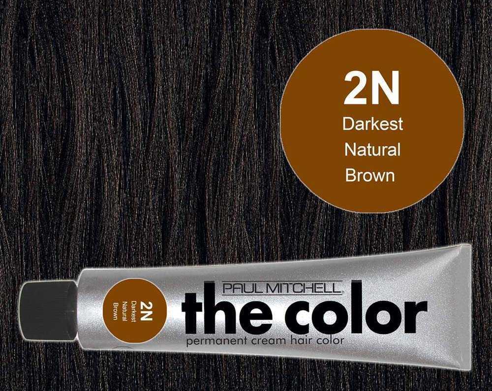 2N-Darkest Natural Brown - PM the color