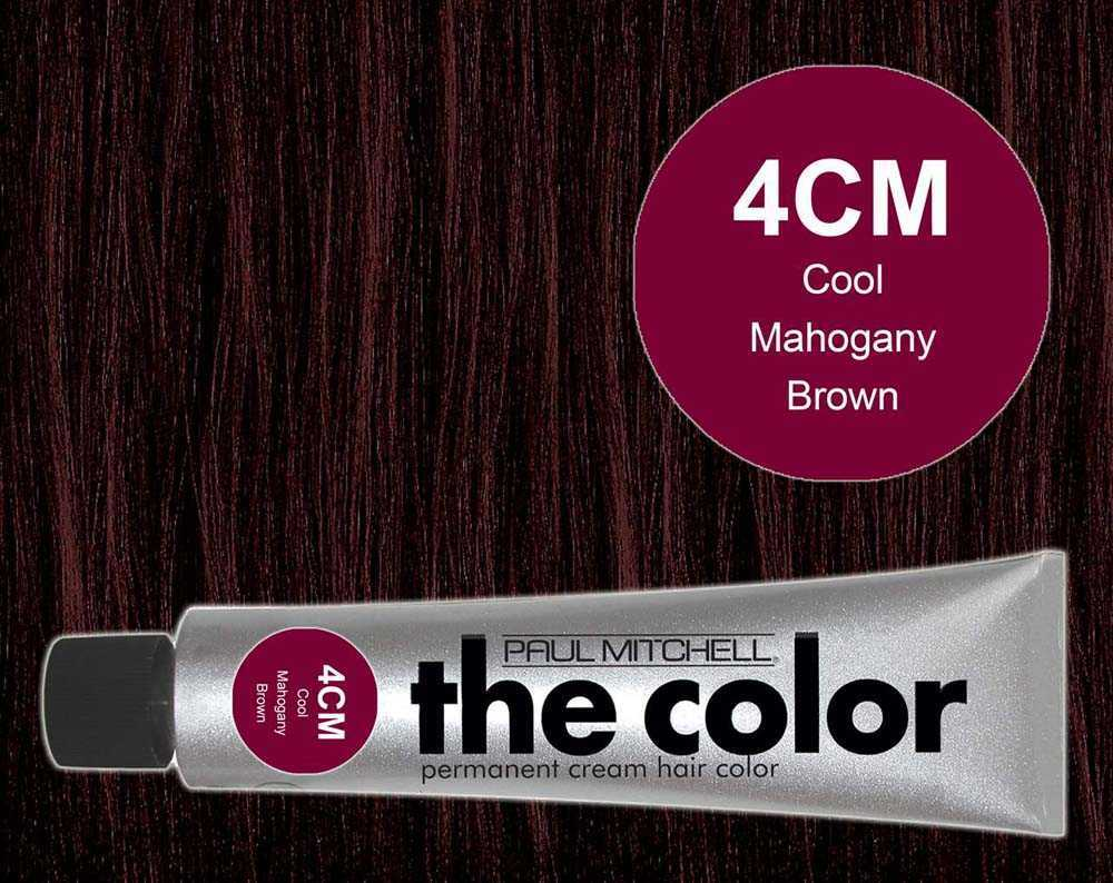 4CM-Cool Mahogany Brown - PM the color