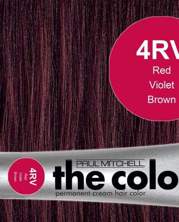 4RV-Red Violet Brown - PM the color