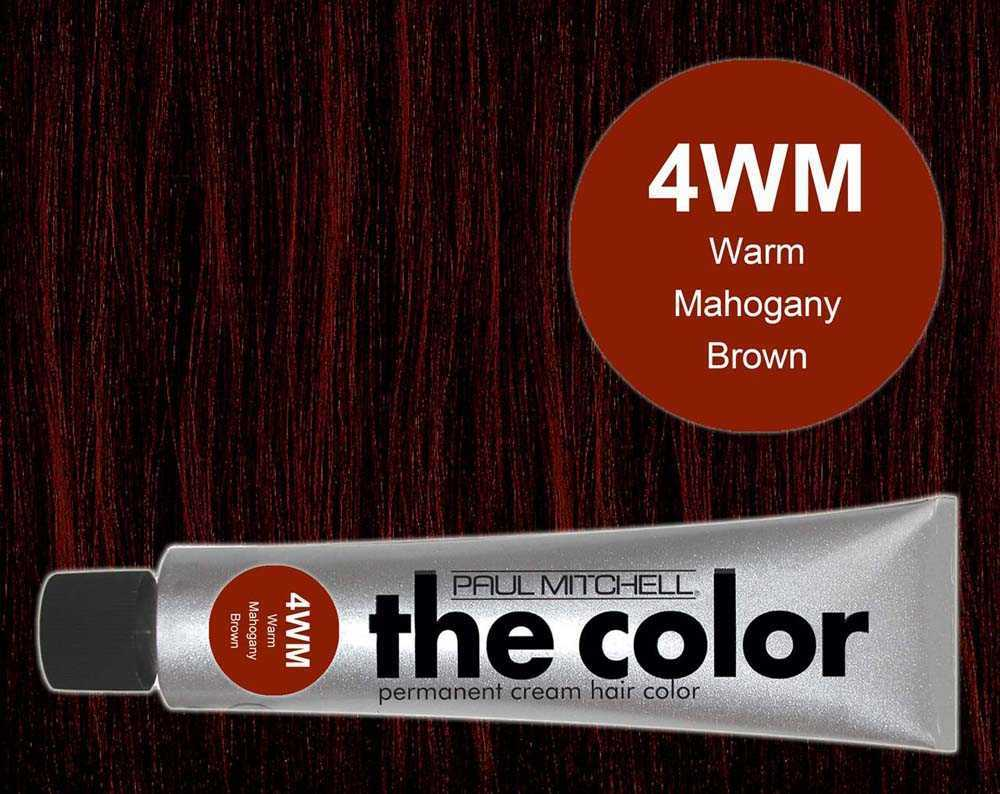 4WM-Warm Mahogany Brown - PM the color