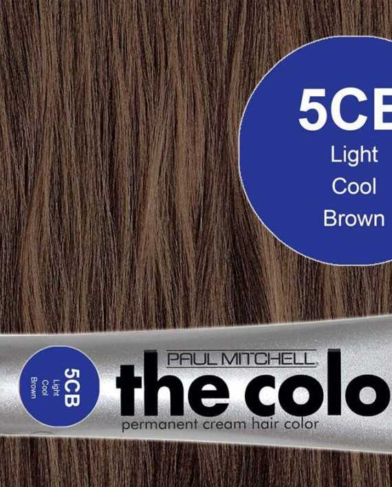 5CB-Light Cool Brown - PM the color