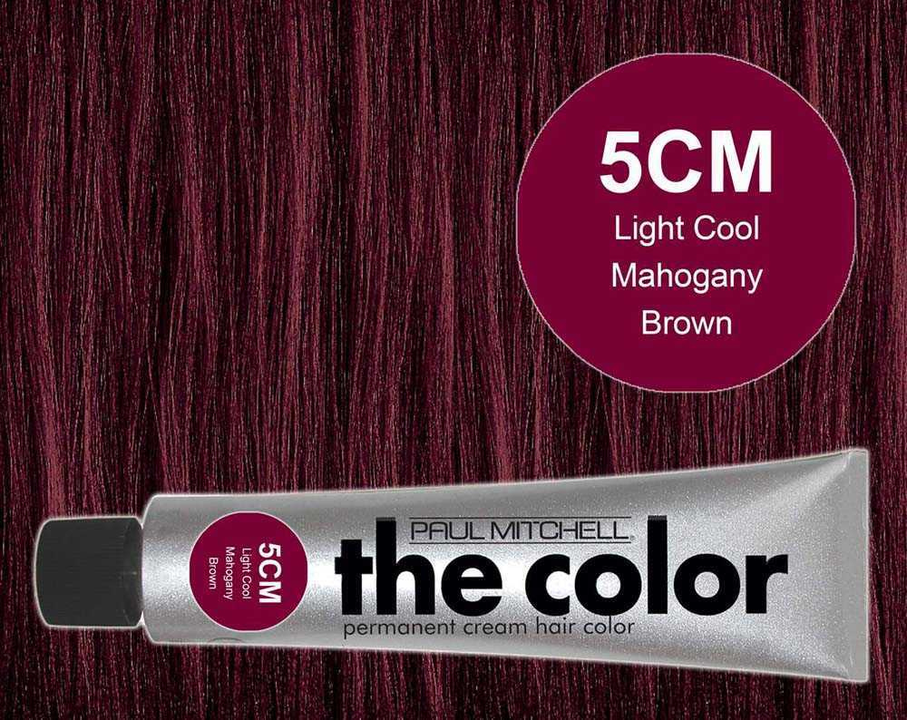 5CM-Light Cool Mahogany Brown - PM the color