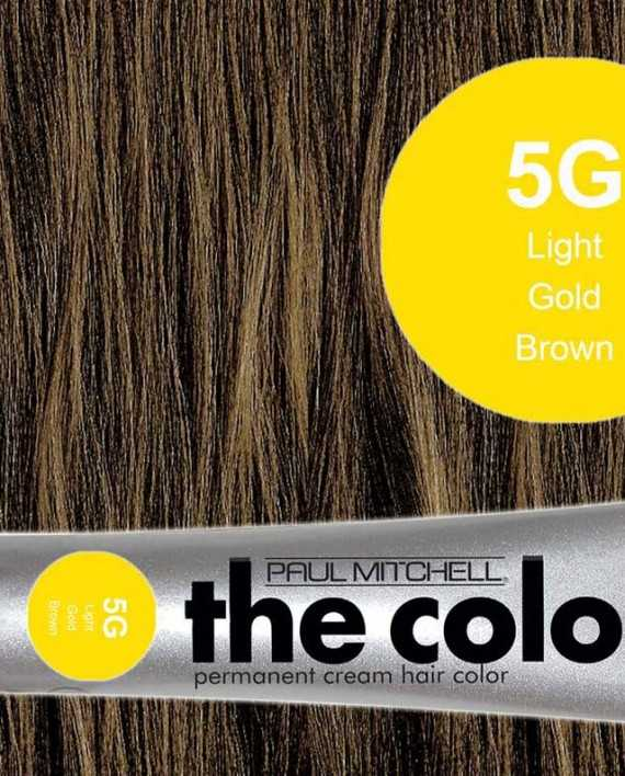5G-Light Gold Brown - PM the color