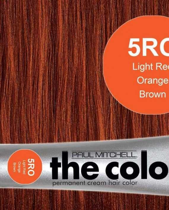 5RO-Light Red Orange Brown - PM the color