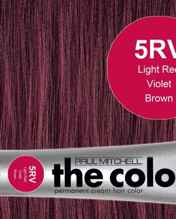 5RV-Light Red Violet Brown - PM the color