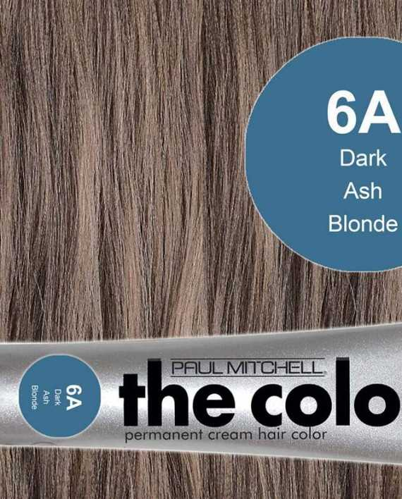 6A-Dark Ash Blonde - PM the color