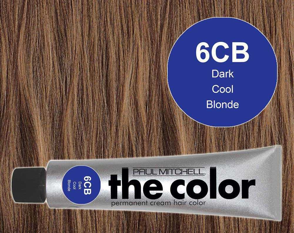 6CB-Dark Cool Blonde - PM the color
