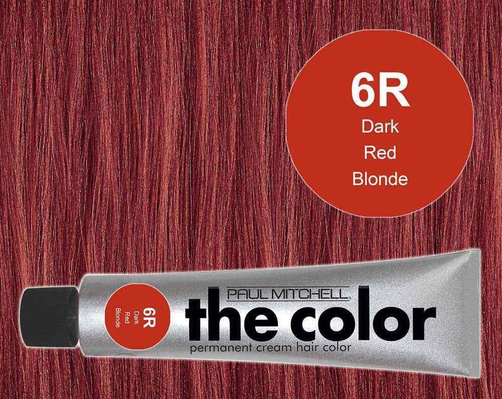 6R-Dark Red Blonde - PM the color