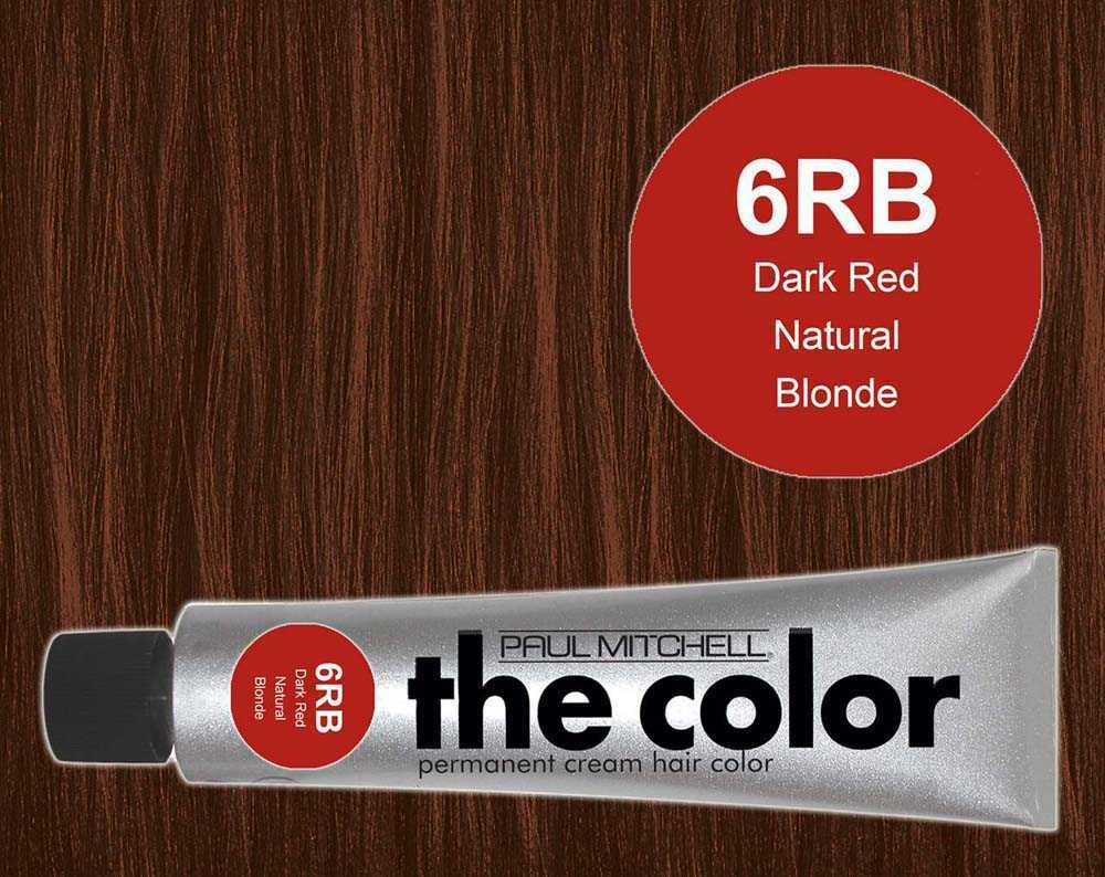 6RB-Dark Red Natural Blonde - PM the color
