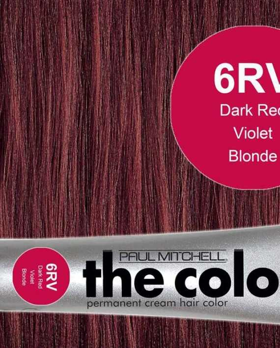 6RV-Dark Red Violet Blonde - PM the color