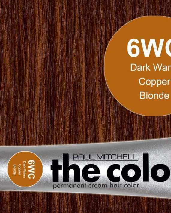 6WC-Dark Warm Copper Blonde - PM the color