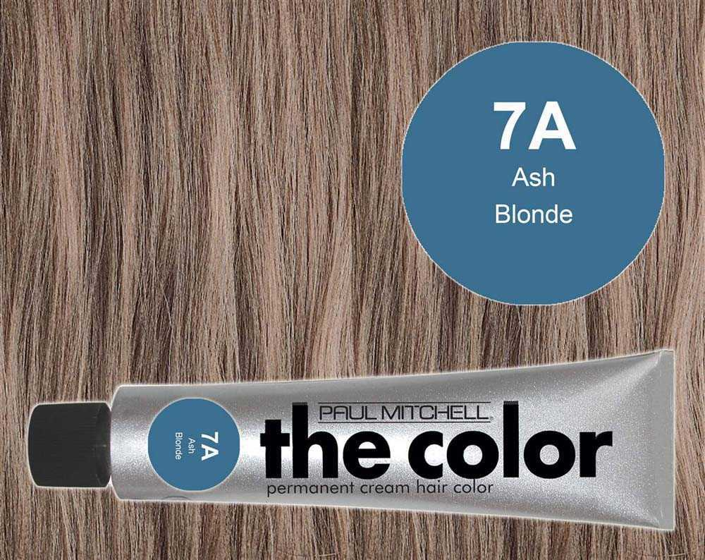 7A-Ash Blonde - PM the color