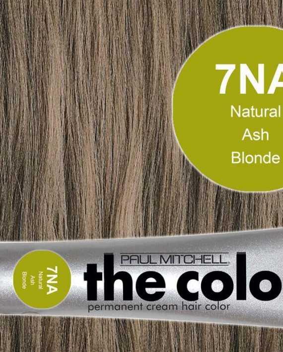 7NA-Natural Ash Blonde - PM the color