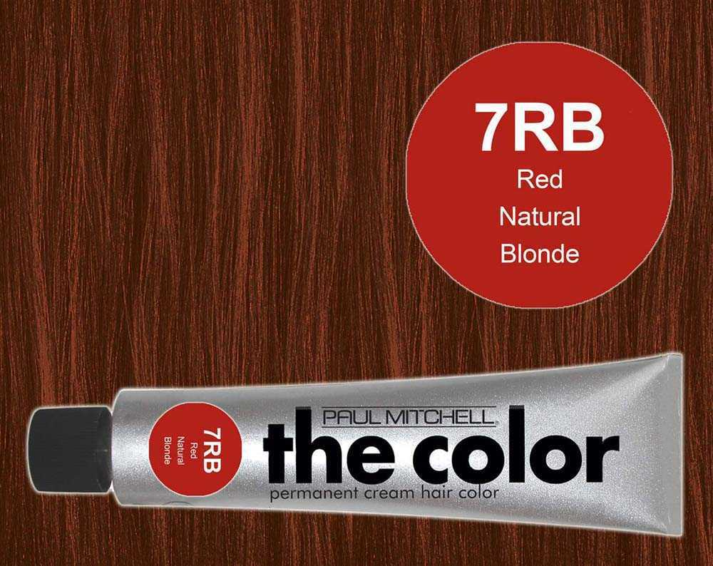 7RB-Red Natural Blonde - PM the color