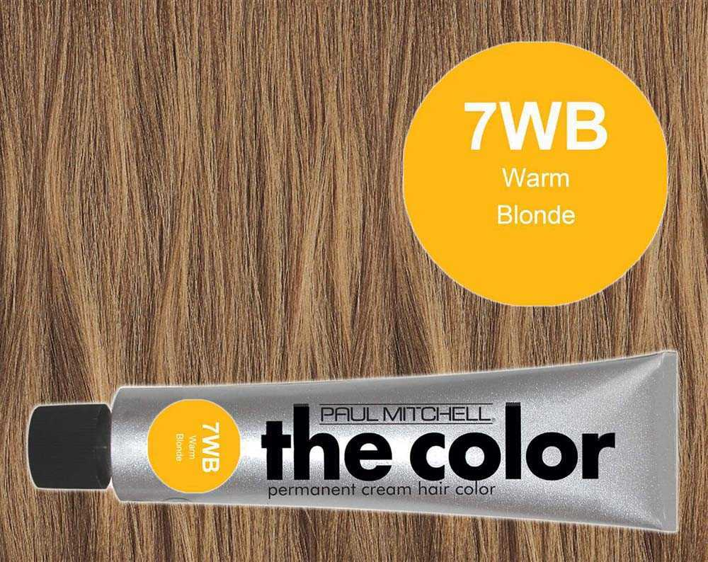 7WB-Warm Blonde - PM the color