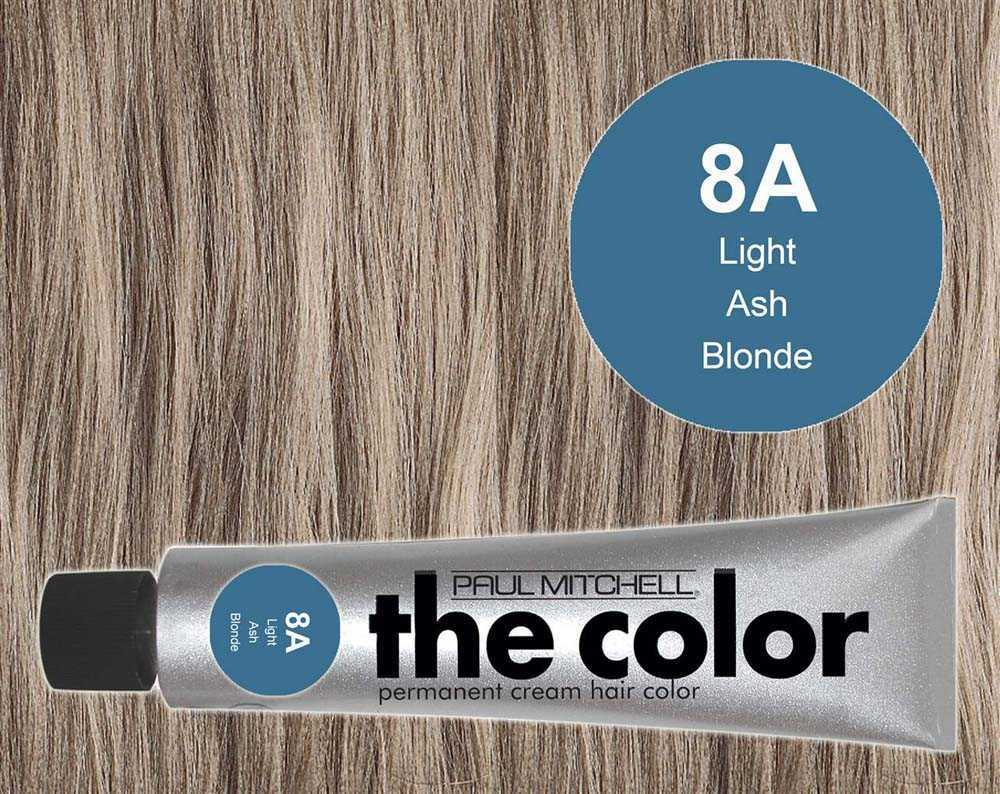 8A-Light Ash Blonde - PM the color