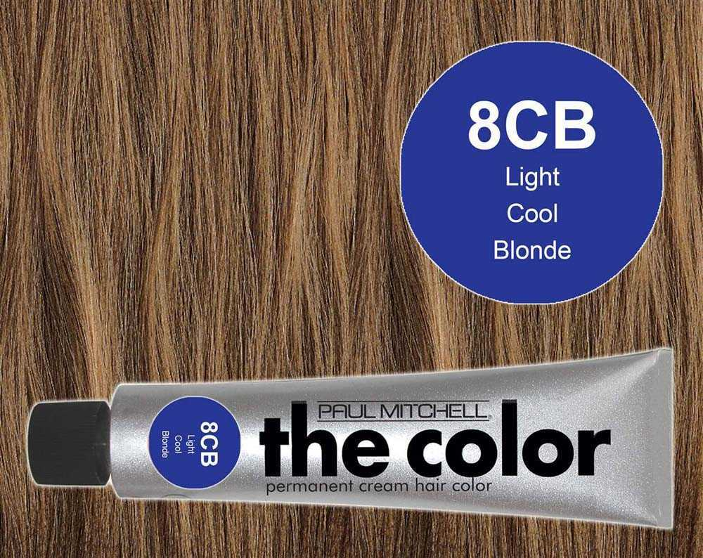 8CB-Light Cool Blonde - PM the color