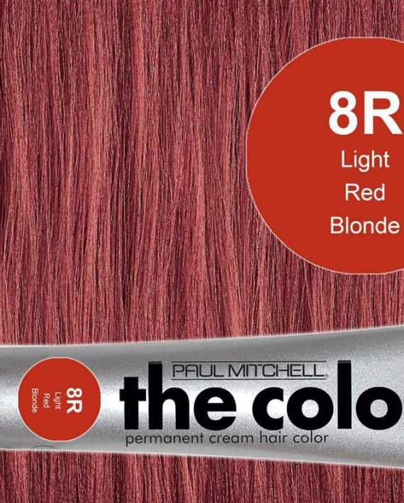 8R-Light Red Blonde - PM the color
