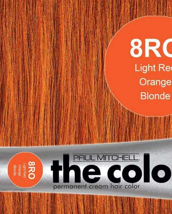 8RO-Light Red Orange Blonde - PM the color