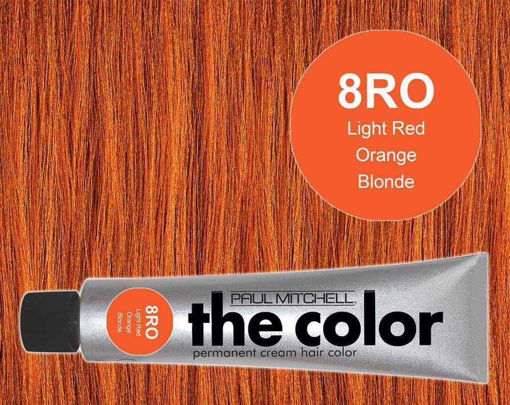 8RO-Light Red Orange Blonde - PM the color
