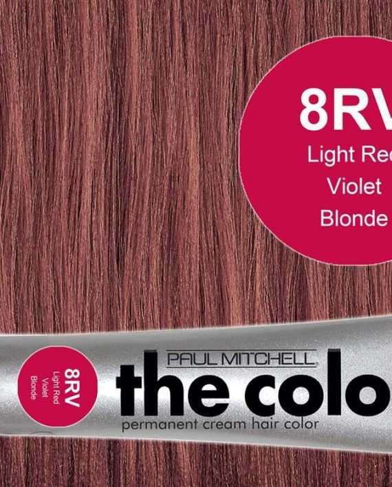 8RV-Light Red Violet Blonde - PM the color