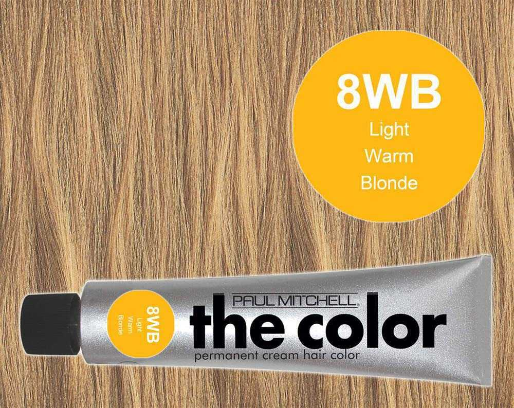 8WB-Light Warm Blonde - PM the color