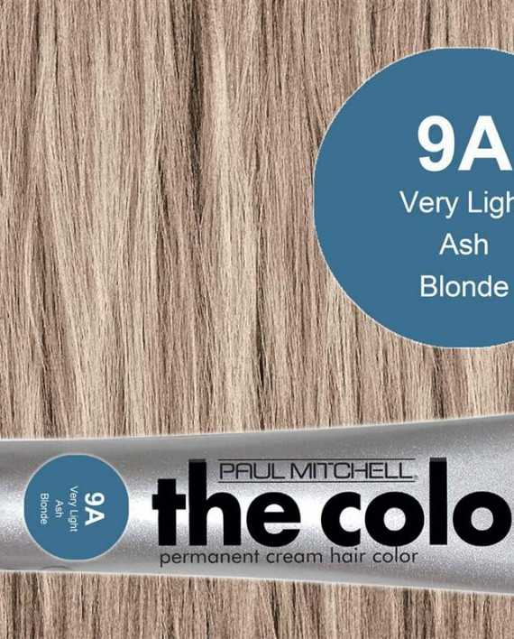 9A-Very Light Ash Blonde - PM the color