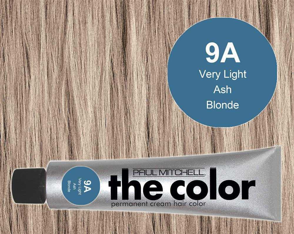 3 Oz 9a Very Light Ash Blonde Pm The Color Sullivan