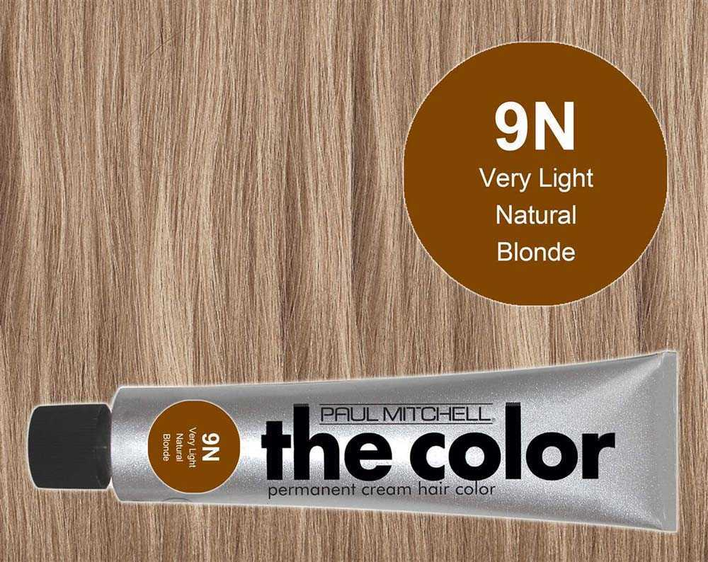 9N-Very Light Natural Blonde - PM the color