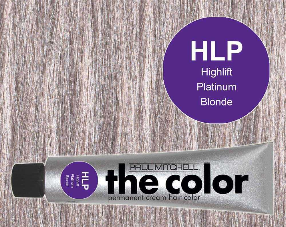 HLP-Highlift Platinum Blonde - PM the color