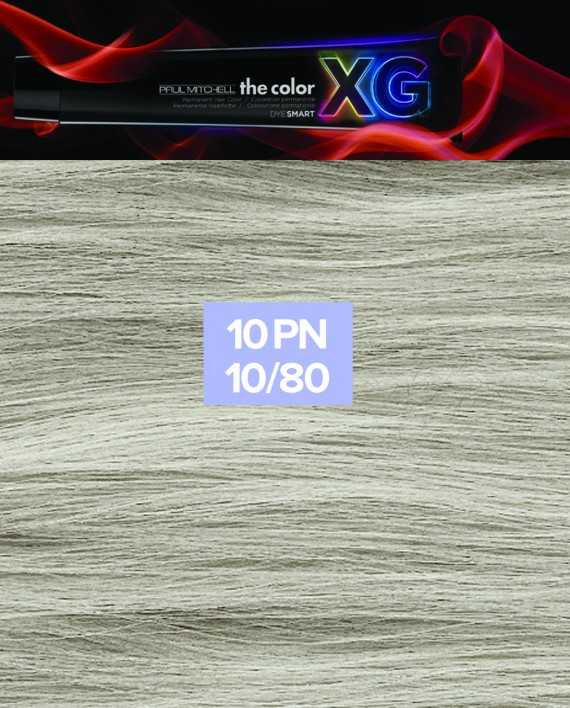10PN - Paul Mitchell the color XG