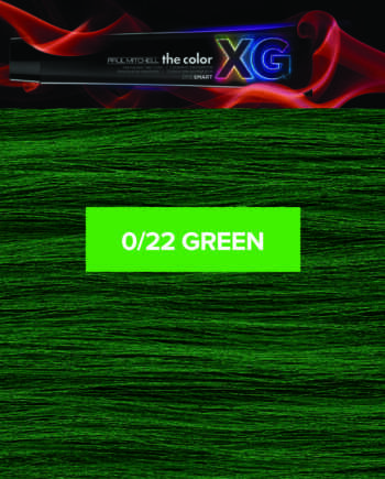 22 (Green) - Paul Mitchell the color XG