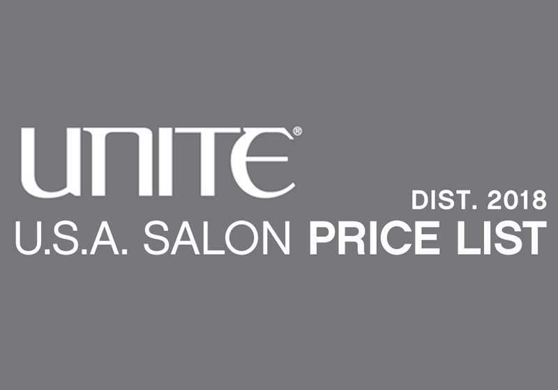 Unite Salon Price List  Sullivan Beauty